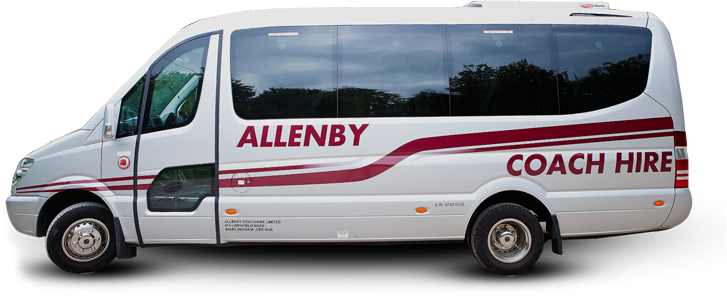 Photo of Allenby Coach Hire luxury minibus