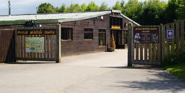 Entrance to the British Wildlife Centre at Lingfield