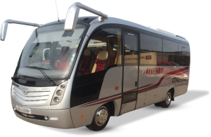 One of the many coaches Allenby has in its fleet