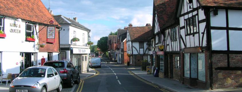 An image of Edenbridge Town Centre