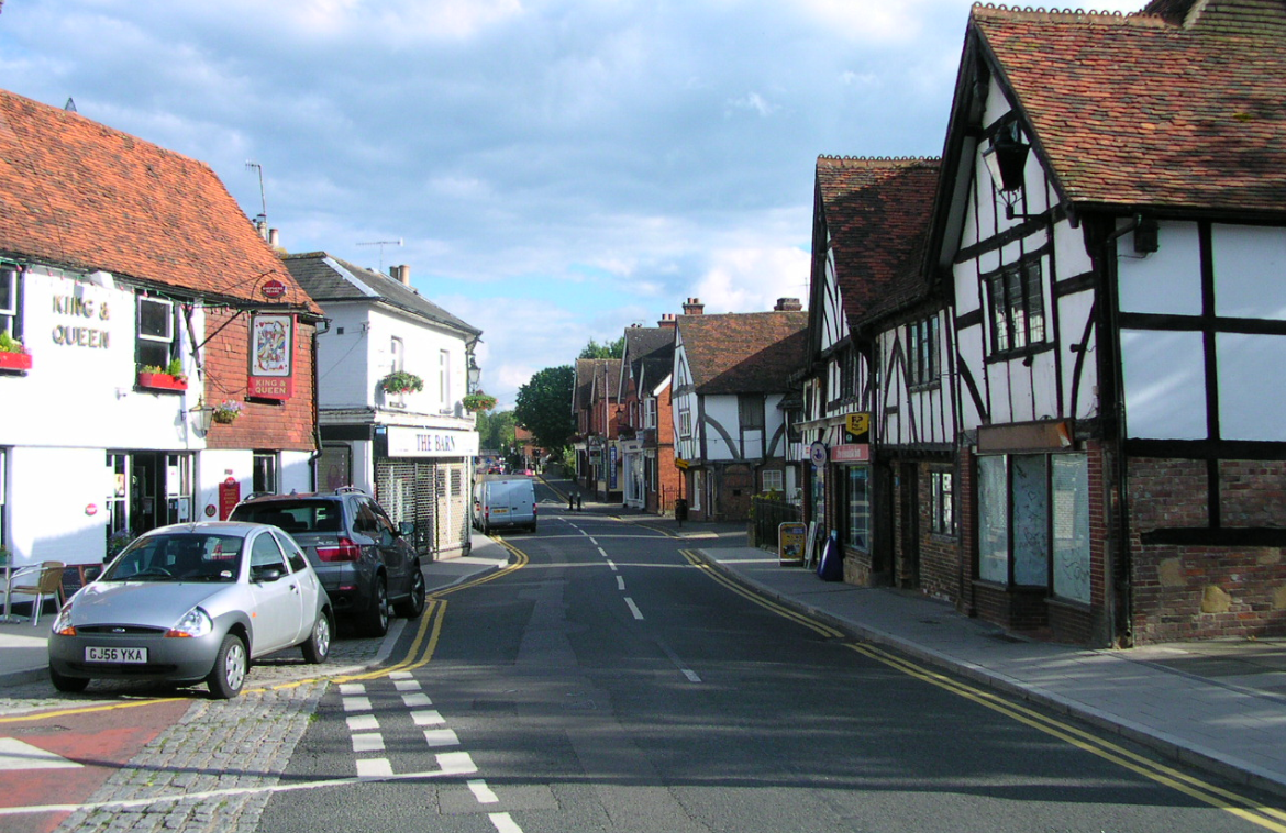 An image of Edenbridge Town Centre
