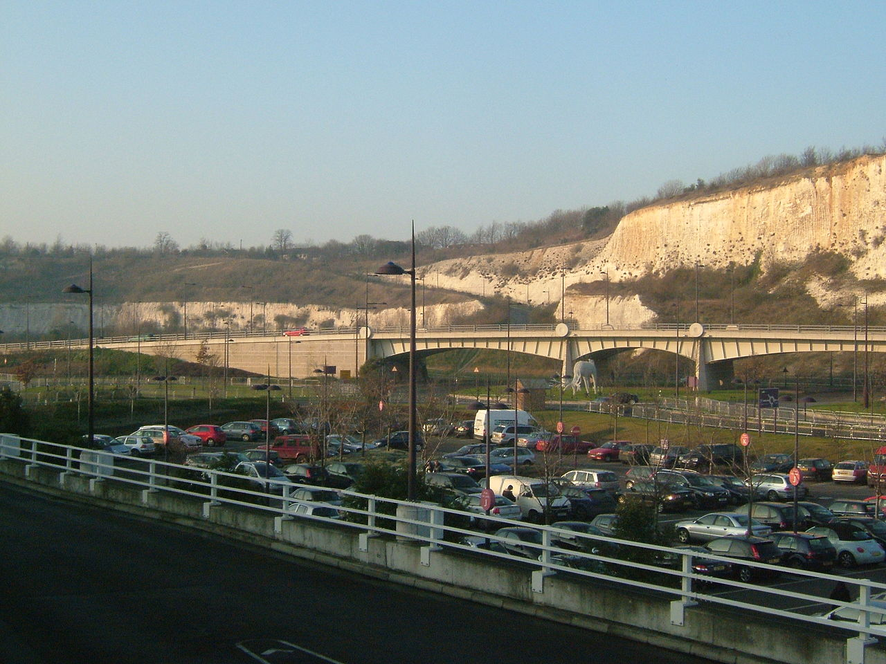 The quarry at Bluewater