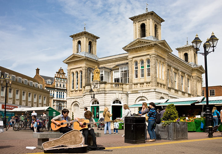 Kingston Upon Thames Market Square